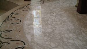 Church Floor Marble Polish